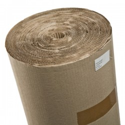 Corrugated cardboard 1m